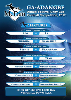 2017 Homowo Unity Cup Football Competition