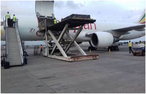 UN charter flight project with Ethiopia