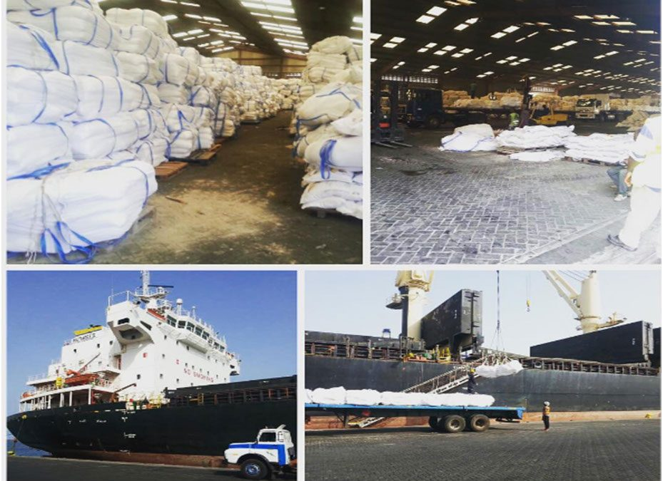 McDan Shipping Offloads a whole Vessel of fertilizers in record time.