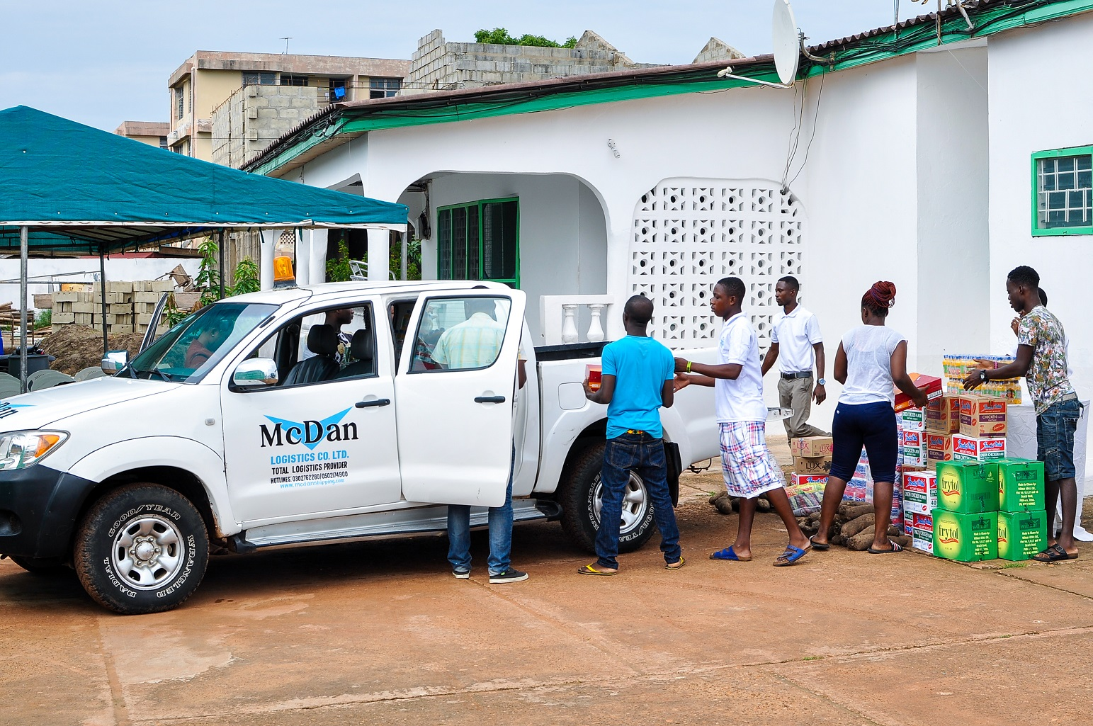 McDan Shipping Company - Your Total Logistics Provider - Teshie Home Donation-2