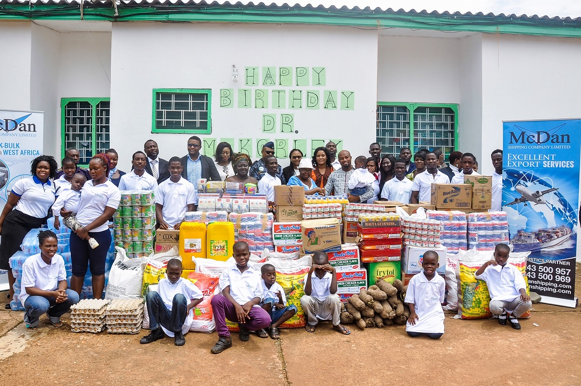 McDan Shipping Teshie Home Donation - 6