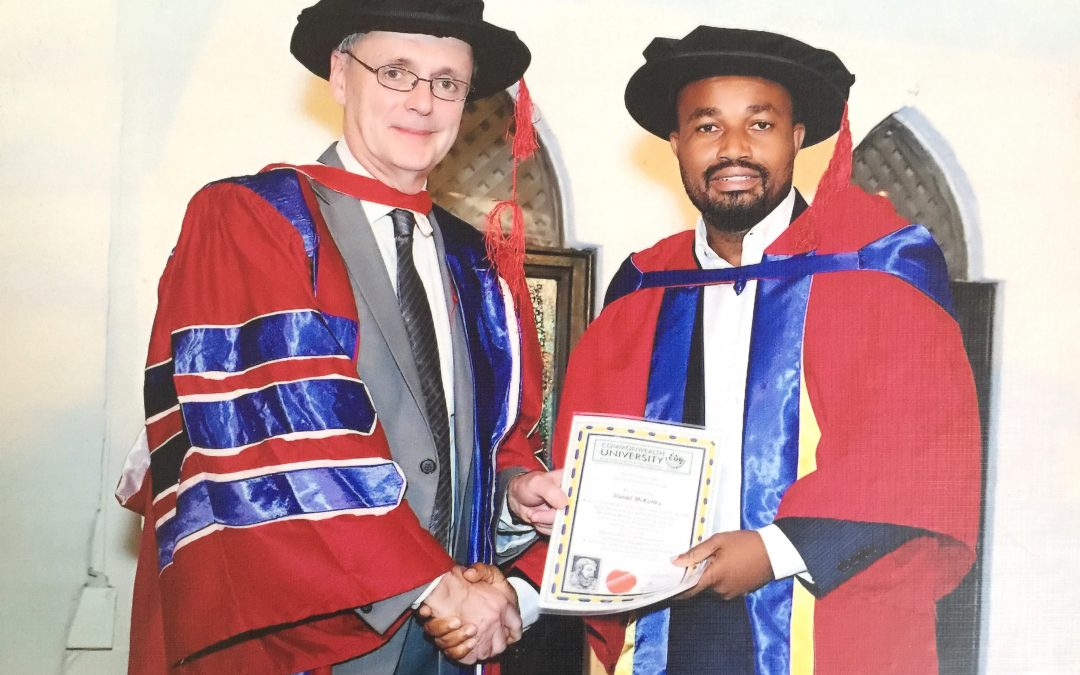 CEO of Mcdan, Daniel Mckorley Awarded a Doctorate